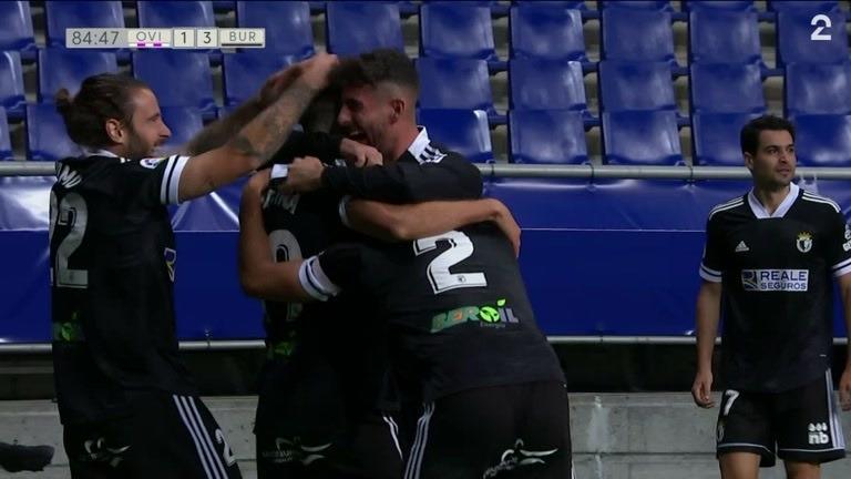 Sammendrag: Oviedo - Burgos 1-3