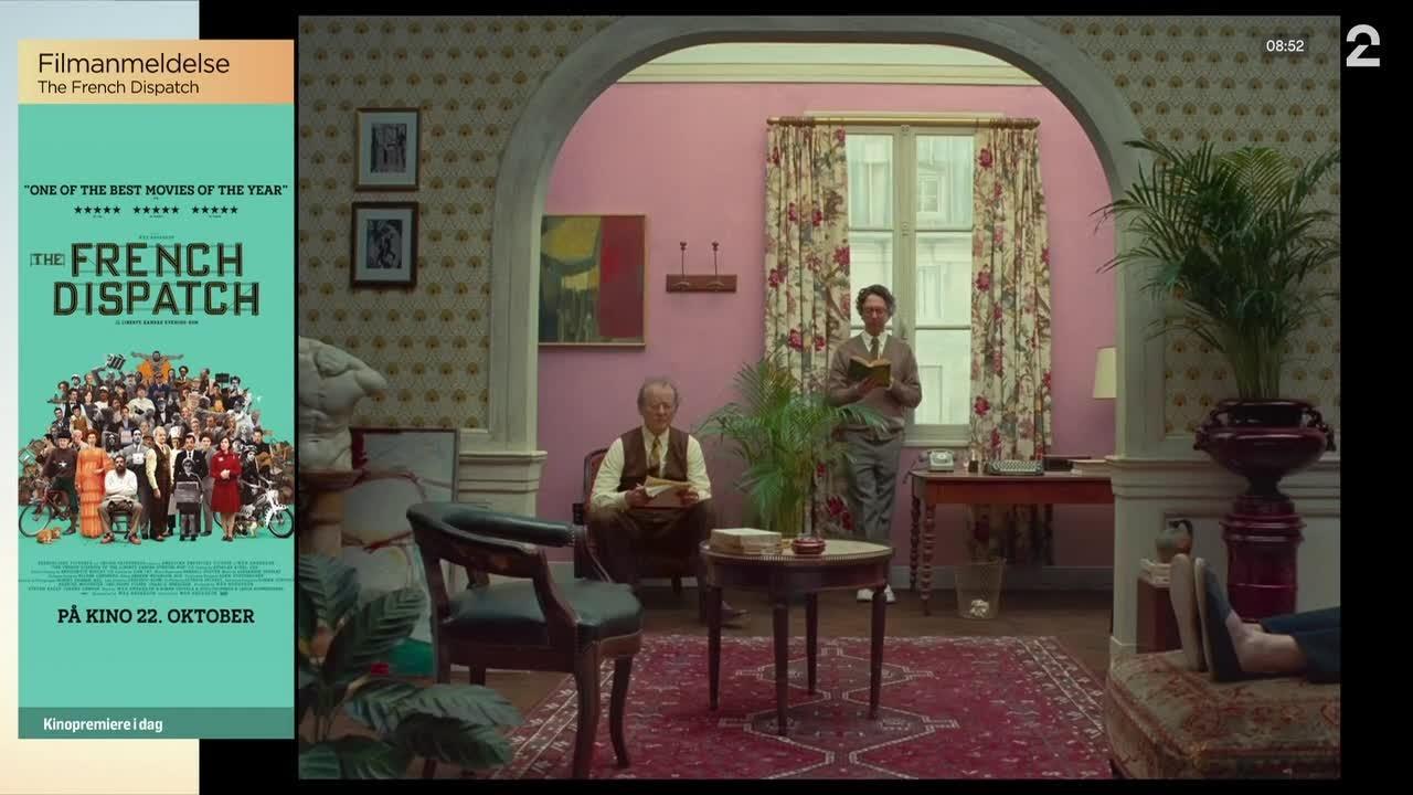 — «The French Dispatch» er en fargesprakende fest av en film