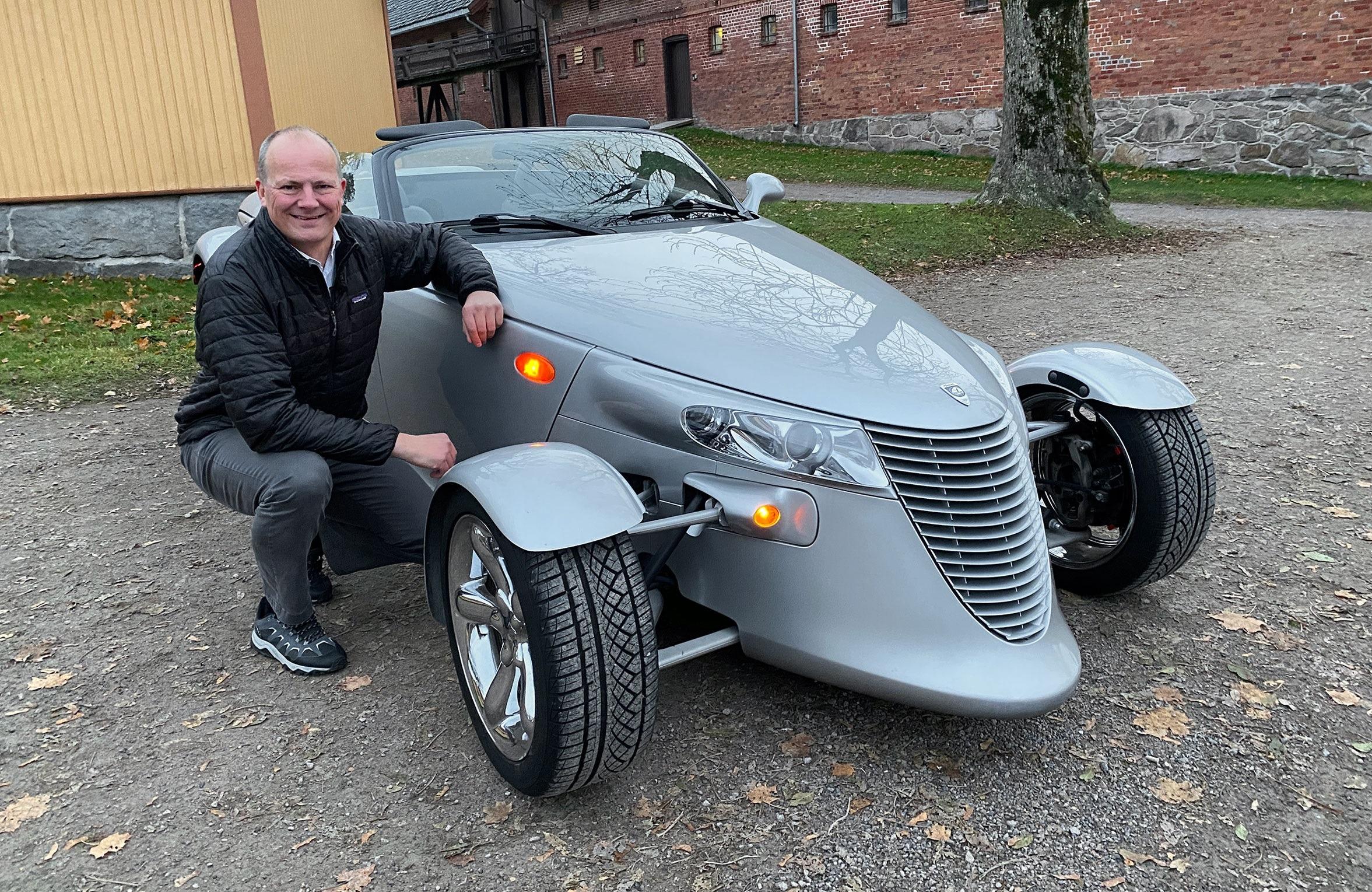 Solvik-Olsen kjøpte drømmebilen: – Noen syns den er blodharry!