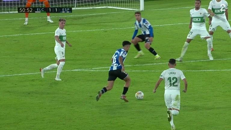 Sammendrag: Elche - Espanyol 2-2
