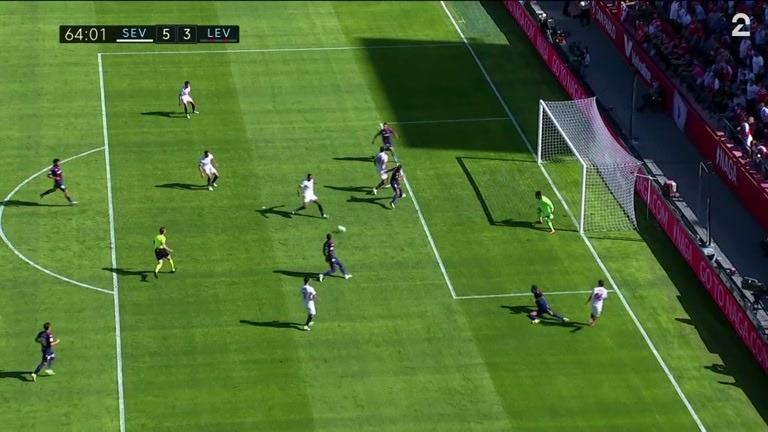 Mål: Fernando (SEV) 5-3 (64)