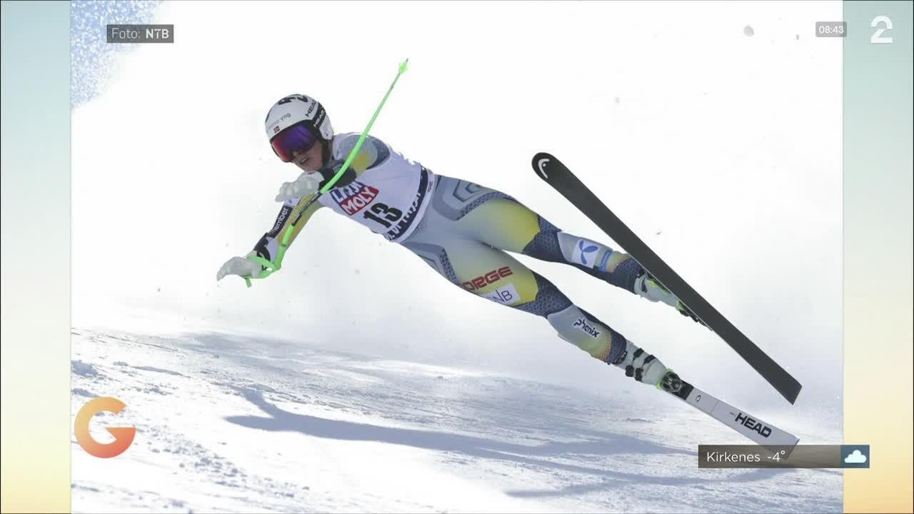 Alpinisten Kajsa elsker mat  og var brevvenn med Ketil Bjørnstad