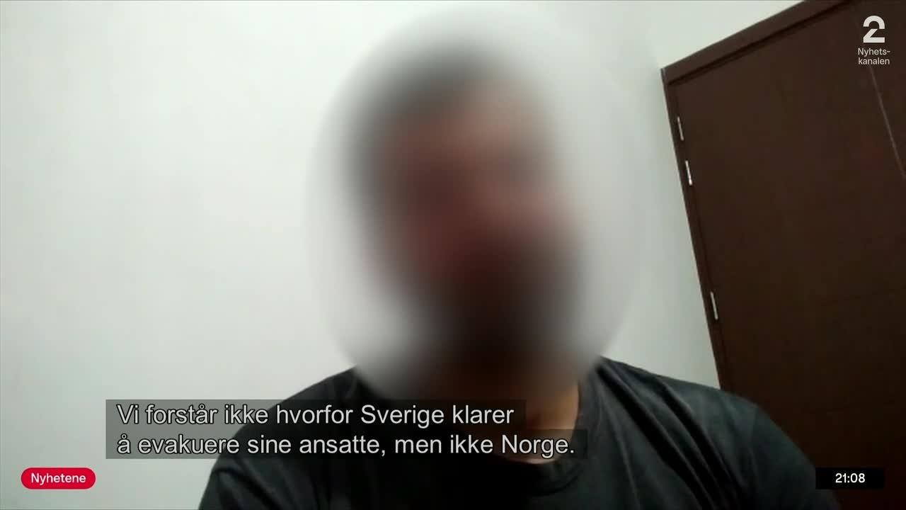 – Hadde jeg jobbet for svenskene, hadde jeg vært trygg nå