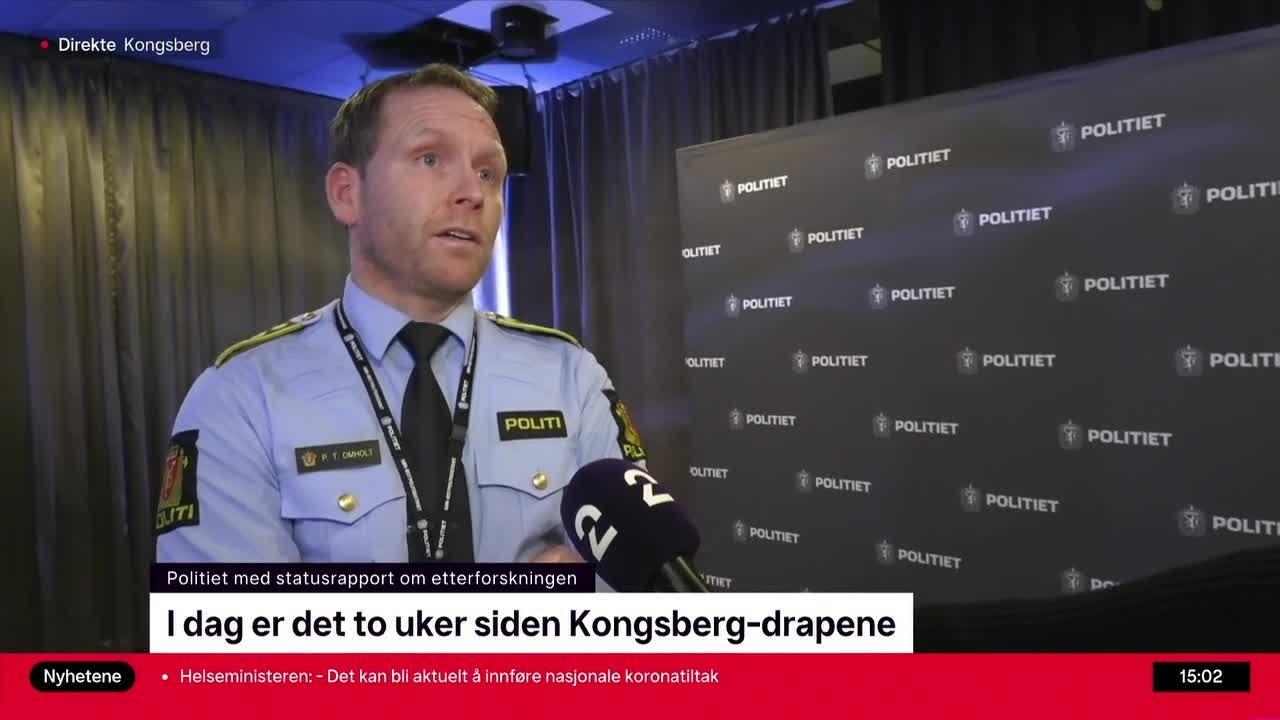 Kongsberg-angrepet: – Har kjøpt våpnene på internett
