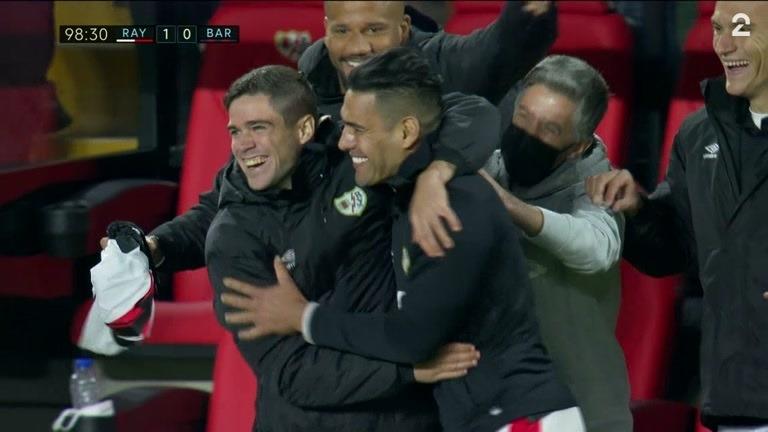 Sammendrag: Rayo Vallecano - Barcelona 1-0
