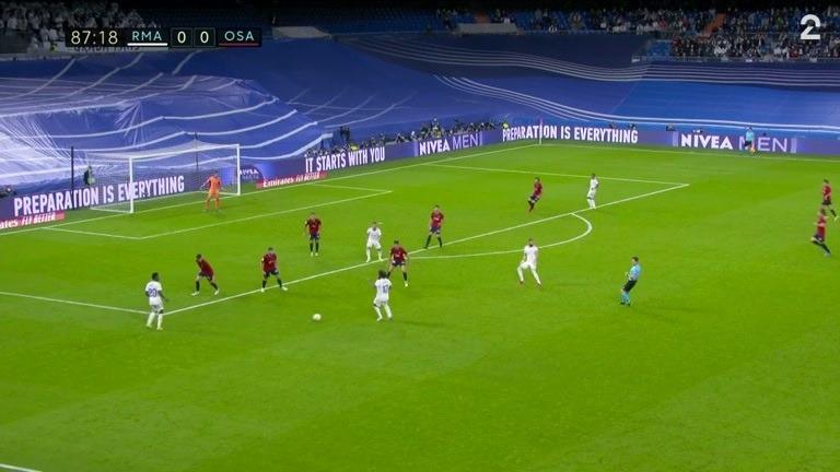 Sammendrag: Real Madrid - Osasuna 0-0