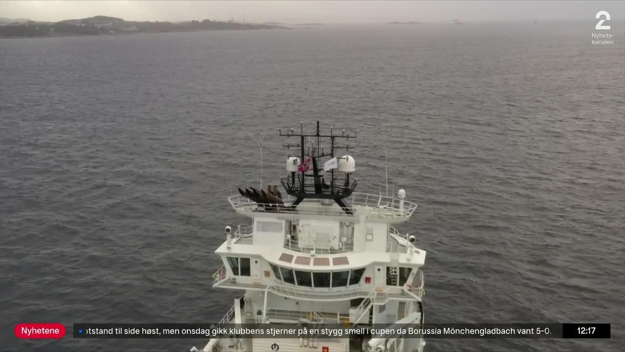 Dette skipet går på kumøkk og fiskeavfall
