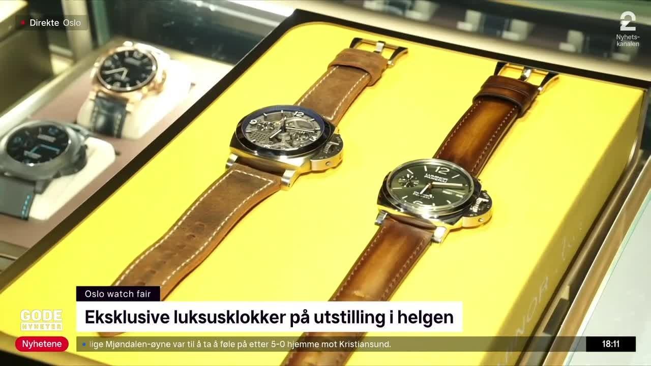 Viser frem klokke til 1,6 millioner i Oslo